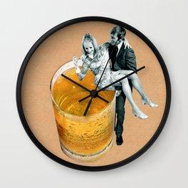 Any refreshment, dear? Wall Clock