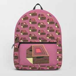Pink Virtual House Backpack