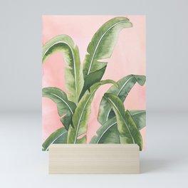 """Blushing Palms"" Mini Art Print"