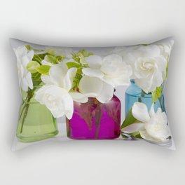 Gardenias in a Jar Rectangular Pillow