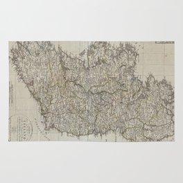 Vintage Map of Ireland (1804) Rug