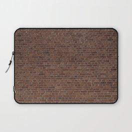 NYC Big Apple Manhattan City Brown Stone Brick Wall Laptop Sleeve