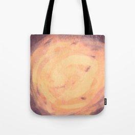 Purple and orange storm simple illustration Tote Bag