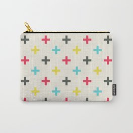 Medium Plus Signs #1 Carry-All Pouch