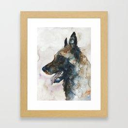 DOG #3 Framed Art Print