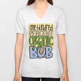 100% Organic Bob Unisex V-Neck