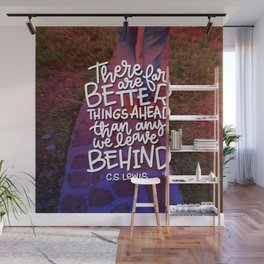 Better Things Wall Mural