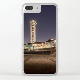 Swansea Marina apartments Clear iPhone Case