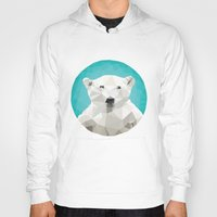 triangles Hoodies featuring ♥ SAVE THE POLAR BEARS ♥ by ℳixed ℱeelings