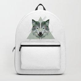 Geometric Wolf Backpack