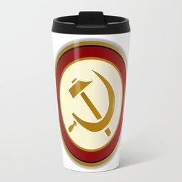 Russian Pin Badge Travel Mug