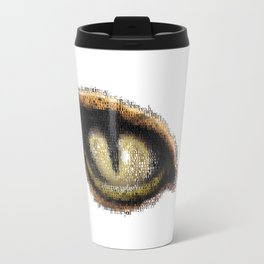 eye of the tiger Travel Mug