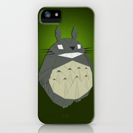 Totorigami iPhone Case