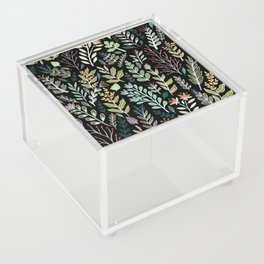 Dark Botanic Acrylic Box