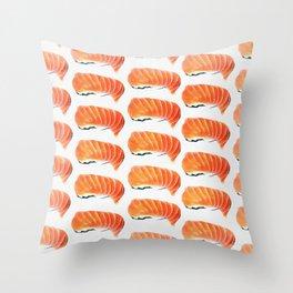 Sushi Pattern Throw Pillow
