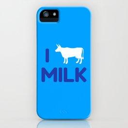 I heart Milk iPhone Case