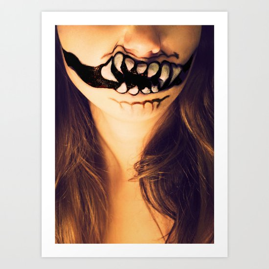 October's Mouth Art Print