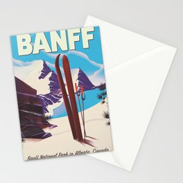 Banff National Park in Alberta Canada Stationery Cards