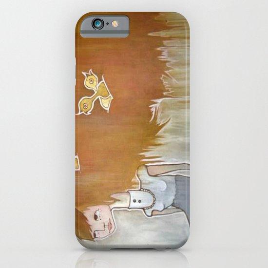 feather brain iPhone & iPod Case
