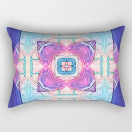 Rivers of Time Rectangular Pillow