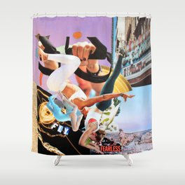 Fly Fearless Shower Curtain
