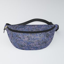 Dark Speckles - Lilac Fanny Pack