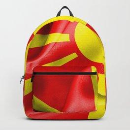 Macedonia Flag Backpack