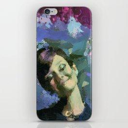 Happy :) iPhone Skin