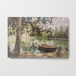 Another afternoon in Villa Borghese Metal Print