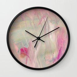 Pink III Wall Clock