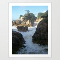 Rocky Sea Art Print