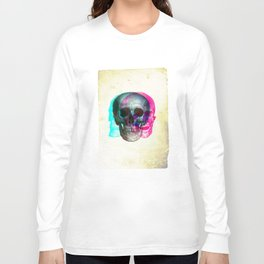Stereoscopic Skull Long Sleeve T-shirt