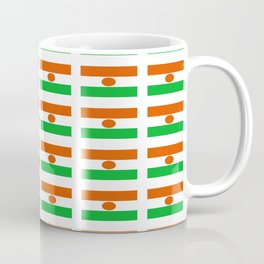 Flag of niger-nigerien,nigerino,Niamey,Zinder,desert Coffee Mug