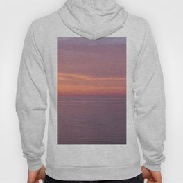 Colors of the sea at the blue hour Hoody