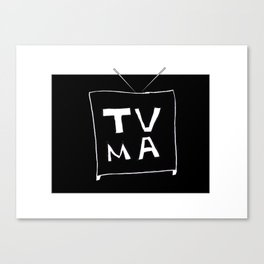 TV Mature Canvas Print