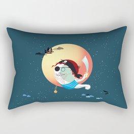 Captain Vermelho Rectangular Pillow