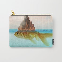 Goldfish Castle Island Carry-All Pouch