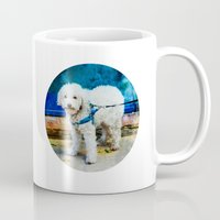 caleb troy Mugs featuring The Adventures Of Troy I by Louisa Catharine Photography And Art