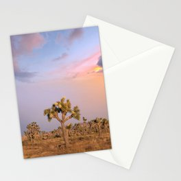 Sunset at Joshua Tree National Park Stationery Cards