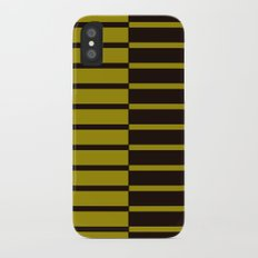 Quagga Zebra Plays Piano Slim Case iPhone X