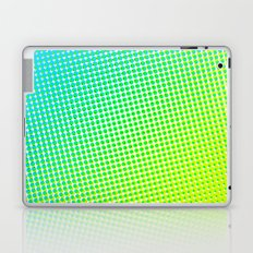 80's grade light blue Laptop & iPad Skin