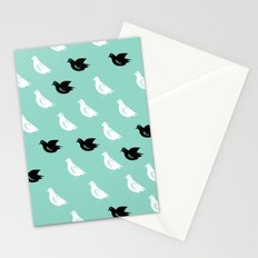 Pigeons art Stationery Cards
