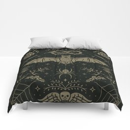 Cemetery Nights Comforters