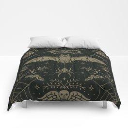 Cemetery Nights Comforters