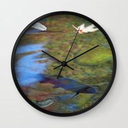 Mystic Waters Wall Clock