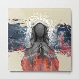 Fire//Desire (2016) Metal Print
