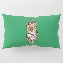 French Bulldog Merry Christmas Pillow Sham