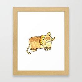 Bantha in Adorable Framed Art Print