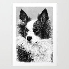 Dog Portrait 02 Art Print