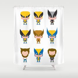 WOLVE RINE EVOLUTION Shower Curtain
